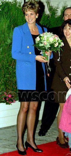 Princess Diana : Tour of Paris, France - 28 Nov 1994 _ Suite