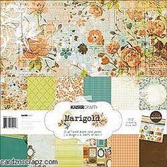 Kaisercraft Marigold Paper Pack 12X12