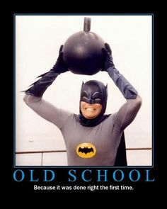 Old School --- #Batman