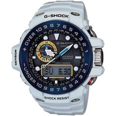Casio G-Shock Men's GWN1000E-8A Gulfmaster Tough Solar Triple Sensor Watch #Casio #Sport