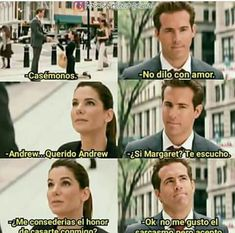 La Propuesta Ryan Reynolds, Sandra Bullock Incredible Film, Ps I Love, Memes Funny Faces, Real Life Quotes, New Memes, Relationship Memes, Love Movie, Man Humor, Movie Quotes