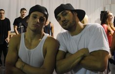 Misha Gabriel Hamilton and Ryan Guzman  #StepUp4 #StepUp5