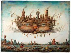 Cheshire Cat by Sergey Tyukanov