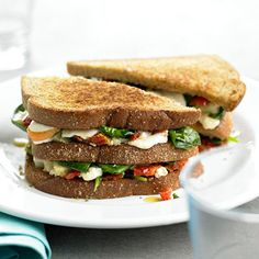 "veggie grilled cheese- Who would have thought of this?   I should be pinning it under the 'Whodathunkit"" board."