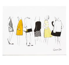 8x10 in or 11x14 in Illustration. About Garance Doré is an illustrator, photographer and fashion blogger. Her illustration talent has allowed her to collaborate creatively with Vogue Paris, Dior, Chop