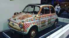 Fiat 500 #fiat #fiat500 #auto #cars #fieraartigianato #fieraartigianatomilano #igerlombardia #igermilano #instagram #milano #milanodavedere #vintage #vintagestyle by paolo_emiliano_federico