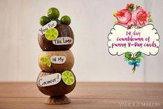 Make a Valentine Card With a Tropical Twist