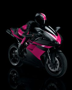 tmobile pink motorcycle - Bing Images. Totally gotta get me some pink highlighters.