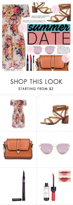 """Summer Date"" by tasnime-ben ❤ liked on Polyvore featuring vintage"
