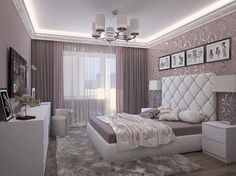 women bedroom interior design trends and wall decoration ideas 2019 Bedroom Colors, Home Decor Bedroom, Modern Bedroom, Living Room Decor, Bedroom Interiors, Decor Room, Trendy Bedroom, Modern Interior Design, Interior Design Living Room