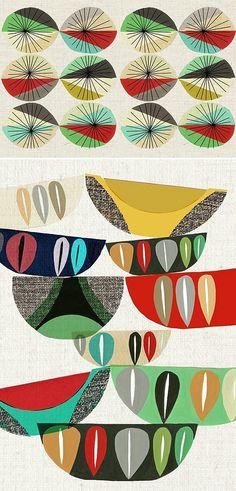 loving these retro patterns
