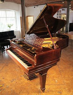 A 1906, Steinway Model B grand piano with a rosewood case and spade legs £20,000 at Besbrode Pianos