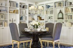Dining Room   St. Albans Road residence   Martha O'Hara Interiors, Interior Design  Photo Styling   Troy Thies, Photography   For more information, please contact design@oharainteriors.com