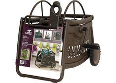 Ames 2517000 Decorative Metal Hose Reel Cart With 150 Foot Hose Capacity  Jackson Http: