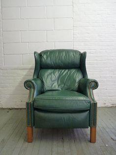 Hancock & Moore Mid Century Recliner Lounge Chair. $995
