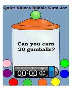 I have used this is my classroom for three years. It works like a charm. The students love to see how many gum balls they can earn during the given time. I have either set the timer for the full amount of work time or set it for smaller increments of time. As a reward, if they reach the goal, I sometimes give a piece of bubble gum, or something toward a classroom goal for some other reward...For example I might give them a letter toward building the word Compliments.
