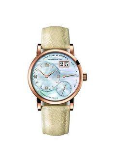 A. Lange & Söhne - The LITTLE LANGE 1 in blue garb #watch