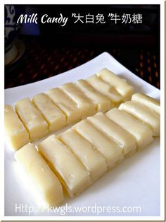 INTRODUCTION When Asian Food Channel posted a picture of white rabbit creamy candy in its timeline, it caught my attention because I did not have this sweet for many years. Yes, in fact it b… Milk Candy Recipe, Candy Recipes, Cookie Recipes, Dessert Recipes, Yummy Treats, Delicious Desserts, Sweet Treats, Yummy Food, Tasty