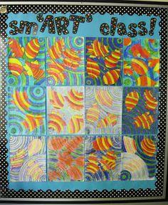 Runde's Room: Falling Leaves in Art Class