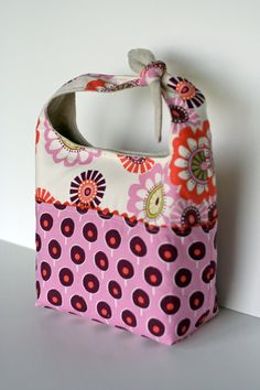 Lunch Bag Sewing Pattern PDF Ebook Hobo Lunch Sak by ginia18, $6.00