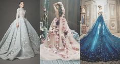 The tables have turned and brides ditched the traditional hemline, allowing young Quince girls to adopt the idea of Quinceanera dresses with trains. Quince Dresses, 15 Dresses, Formal Dresses, Wedding Dresses, Wholesale Prom Dresses, The Tables Have Turned, Quinceanera Dresses, Ball Gowns, Trains