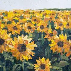 Sunflower Fields, Flower Paintings, Paper Weights, Giclee Print, Museum, Create, Prints, Flowers, Art