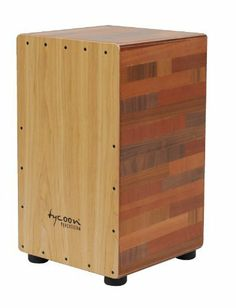 Tycoon Percussion 29 Series Wood Mixture Cajon With American Ash Front Plate by Tycoon Percussion. $175.00