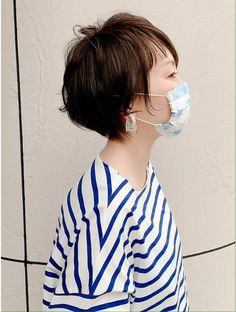 Short Hair Styles, Hair Beauty, Ruffle Blouse, Hairstyle, Women, Fashion, Bob Styles, Hair Job, Moda