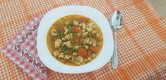 Zöldborsó leves rántás nélkül Risotto, Ethnic Recipes, Food, Red Peppers, Essen, Meals, Yemek, Eten