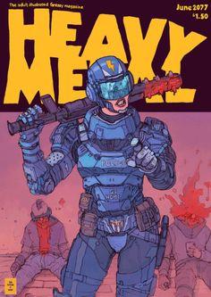 Heavy Metal by f1x-2 on DeviantArt