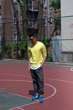 Outfit: Mens Fashionable Sportswear Half Court - See the full post HERE FACEBOOK | TWITTER | BLOGLOVIN | PINTEREST | LOOKBOOK
