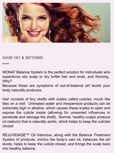 Hair tip from Monat