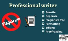 Hello! i can remove the plagiarism from your report and make it proof read I've an experience of 2 years of making final year reports you can check my work sample in the attachement. Regards, Sohail Haider Copy Editing, Research, Writers, How To Remove, Articles, Reading, Words, Check, Search
