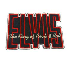 ELVIS Embroidered Rock Band Iron On or Sew On Patch UK SELLER Patches in Collectables, Badges/ Patches, Patches   eBay