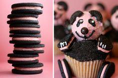 Pink Panda Cupcakes by Bakerella