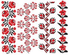 Folk Embroidery Patterns romanian embroidery patterns - - Millions of Creative Stock Photos, Vectors, Videos and Music Files For Your Inspiration and Projects. Cross Stitch Borders, Cross Stitching, Cross Stitch Patterns, Folk Embroidery, Embroidery Patterns, Machine Embroidery, Flower Embroidery, Palestinian Embroidery, Satin Stitch