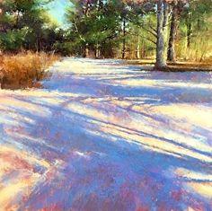 Snow Patterns by Jacob Aguiar Pastel ~ 24 x 24