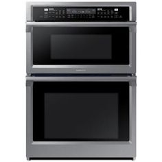 Electric Steam Cook Wall Oven With Sd Built In Microwave Stainless Steel Silver