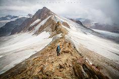 Gratwanderung by vsfoto Alps, Mount Everest, Mountains, Den, Nature, Travel, Austria, Viajes, Traveling