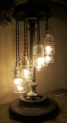 1000 images about bottle and mason jar diy on pinterest for Telephone insulator light fixture
