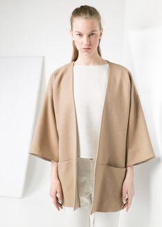 Premium - kimono mit struktur -  Damen | MANGO Deutschland