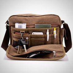 High Quality Multi Functional Canvas Bag Crossbody Bags For Travel, Travel  Messenger Bag, Travel 5abc752e2f