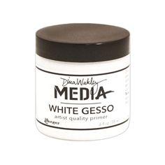 Dina Wakley Ranger WHITE GESSO Media MDM41689