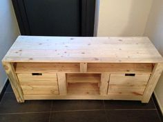 Gorgeous pallet t.v stand or unit