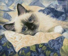 Charming - cross stitch pattern designed by Tereena Clarke. Category: Cats.