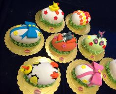 CHOCOLATE EGGS WITH SUGARPASTE!!!