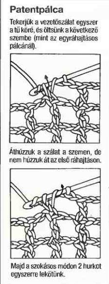 Horgolás alapok - A kreatív emberek oldala Crochet Stitches, Knit Crochet, Sewing Patterns, Knitting, Crocheting, Table, Crochet, Tricot, Breien