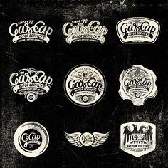 Gascap Motor's logotypes  Alex Ramon Mas Blog   Disseny Gràfic Barcelona