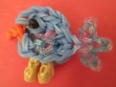 Rainbow Loom Baby Blue Bird Charm - YouTube