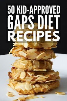 Looking for the best GAPS recipes for kids? From simple breakfast and lunch ideas to fruit snacks, desserts, and creative ways to get kids to consume bone broth, we've rounded up GAPS recipes that are perfect for children and families alike. Dairy Free Diet Plan, Dairy Free Recipes For Kids, Dairy Free Snacks, Dairy Free Breakfasts, Children Recipes, Gaps Diet Recipes, Gourmet Recipes, Healthy Recipes, Scd Recipes